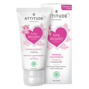 ATTITUDE Baby Training Toothpaste strawberry flouride-free 75g