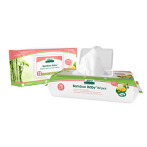 ALEVA  Bamboo Baby Wipes sensitive-skin 72