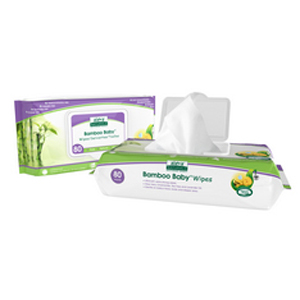 ALEVA Bamboo Baby Wipes 80