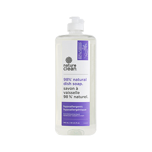 NATURE CLEAN Dish Soap lavender teatree 740ml