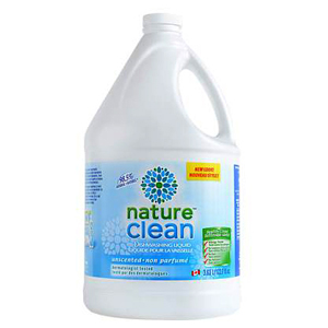 NATURE CLEAN Dish Soap fragrance-free 3.63L