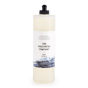 THE UNSCENTED COMPANY Dish Soap fragrance-free 750ml