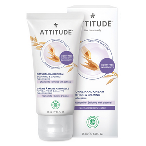 ATTITUDE Hand Cream Soothing & Calming with chamomile for sensitive-skin 75ml