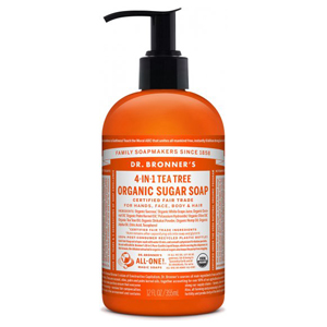 DR.BRONNER'S Sugar Soap Pump teatree 355ml