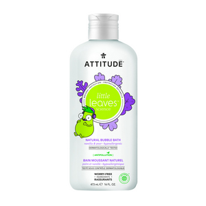 ATTITUDE Little Leaves Bubble Bath vanilla pear 473ml