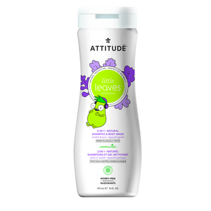ATTITUDE Little Leaves Shampoo & Body Wash vanilla pear 473ml