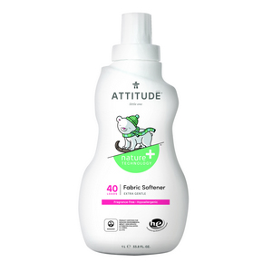 ATTITUDE Gentle Fabric Softener fragrance-free 1L (40)