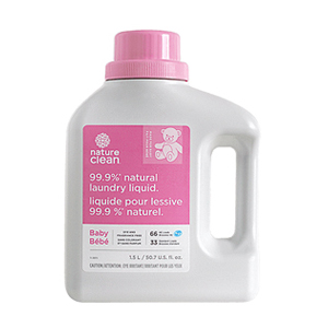 NATURE CLEAN Baby Laundry Liquid fragrance-free 1.5L (33-66)