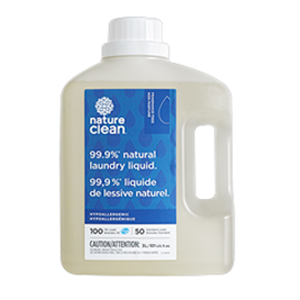 NATURE CLEAN Laundry Liquid fragrance-free 3L (50-100)