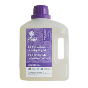 NATURE CLEAN Laundry Liquid lavender 3L (50-100)