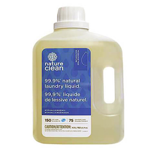NATURE CLEAN Laundry Liquid fragrance-free 4.5L (75-150)