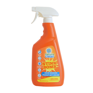 NATURE CLEAN Stink Bomb Odour Remover Spray 740ml