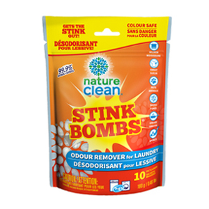 NATURE CLEAN Stink Bomb Odour Remover Tabs 10