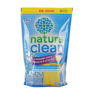 NATURE CLEAN Laundry Tabs 24