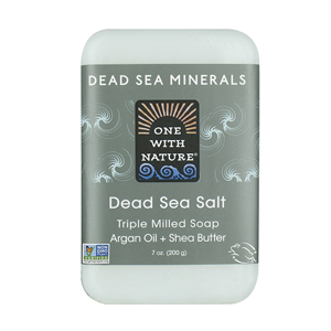 ONE WITH NATURE Bar Soap dead sea salt 200g