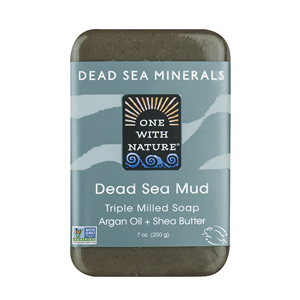 ONE WITH NATURE Bar Soap dead sea mud 200g