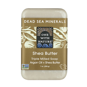 ONE WITH NATURE Bar Soap shea butter  200g