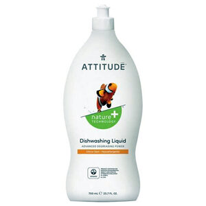 ATTITUDE Dish Soap citrus zest 700ml