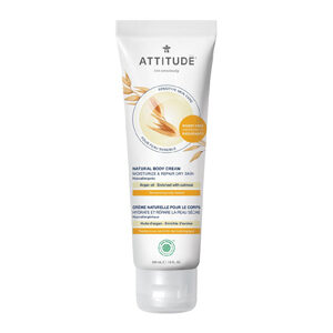 ATTITUDE Body Cream Moisturize & Repair with argan-oil for sensitive-skin 240ml