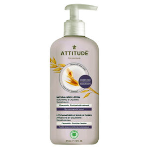 ATTITUDE Body Lotion Soothing & Calming with chamomile for sensitive-skin 473ml