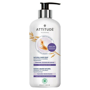 ATTITUDE Hand Soap Soothing & Calming with chamomile for sensitive-skin 473ml