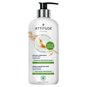 ATTITUDE Hand Soap Nourishing with avocado-oil for sensitive-skin 473ml