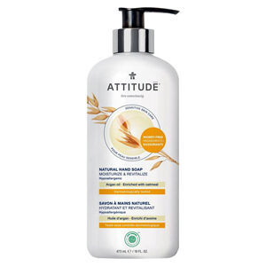 ATTITUDE Hand Soap Moisturize & Revitalize with argan-oil for sensitive-skin 473ml