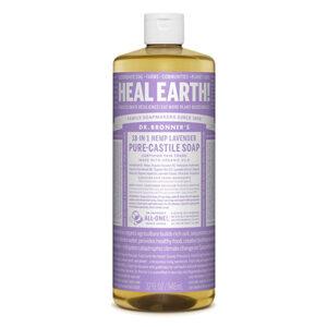 DR.BRONNER'S Pure Castile Soap lavender large refill-size 946ml
