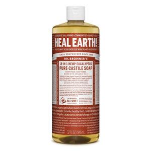 DR.BRONNER'S Pure Castile Soap eucalyptus large refill-size 946ml