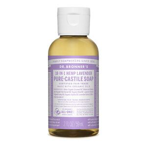 DR.BRONNER'S Pure Castile Soap lavender travel-size 59ml