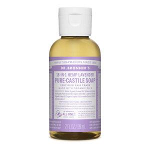 DR.BRONNER'S Pure Castile Soap lavender travel-size 59ml
