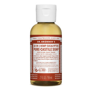 DR.BRONNER'S Pure Castile Soaps large & small – Eucalyptus, S