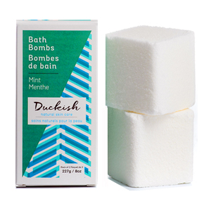 DUCKISH Bath Bombs mint 227g