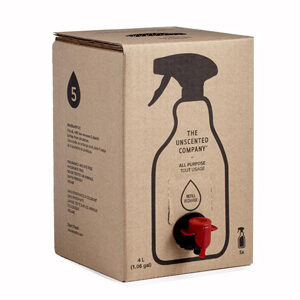 THE UNSCENTED COMPANY All Purpose Cleaner Refill Box fragrance-free 4L