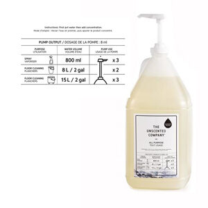 THE UNSCENTED COMPANY All Purpose Cleaner Refill Concentrate 3.78L