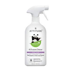 ATTITUDE All Purpose Disinfectant Cleaner lavender 99.9% 800ml