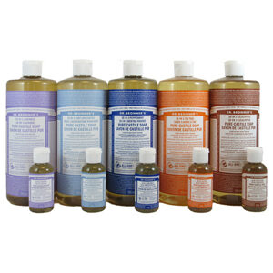 DR.BRONNER'S Pure Castile Soaps large & small