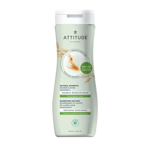 ATTITUDE Shampoo Nourish & Shine with avacado-oil for sensitive-skin 473g