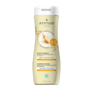 ATTITUDE Shampoo Repair & Colour Protection with argan-oil for sensitive-skin 473g