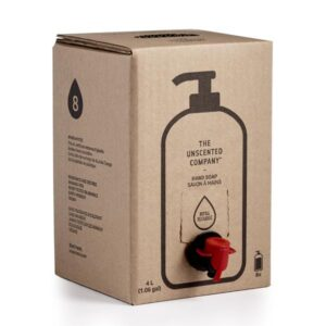 THE UNSCENTED COMPANY Hand Soap Refill Box fragrance-free 4L