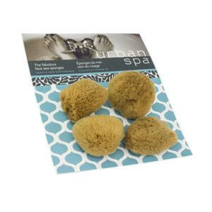 URBAN SPA Sea Sponges 4 small