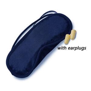 URBAN SPA Satin Eye Mask & ear plugs