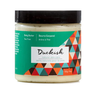 DUCKISH Body Butter teaTree oil 116g
