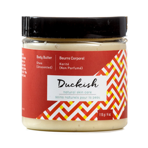 duckish lotion in container