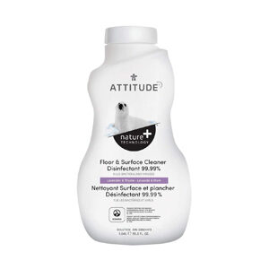 ATTITUDE Floor & Surface Cleaner Disinfectant 99.99% lavender-thyme 1L