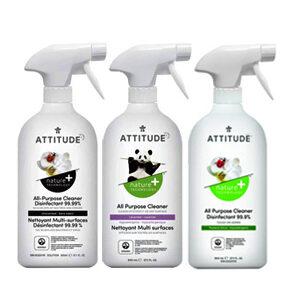 ATTITUDE All Purpose Disinfectant Cleaner 99.9% 800ml