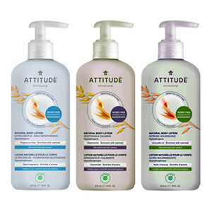 ATTITUDE extra gentle Body Lotion for sensitive-skin 473ml