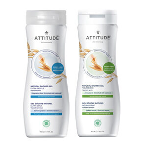 ATTITUDE extra gentle Shower Gel for sensitive-skin 473ml