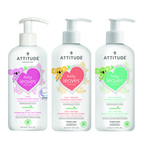 ATTITUDE Baby Shampoo & Body Wash 473ml
