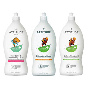 ATTITUDE Dishwashing Soaps 700ml